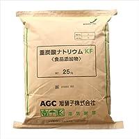旭硝子製 重曹 25kg [02] 【同梱不可】炭酸水素ナトリウム 食品添加物(食品用)国産重曹 NICHIGA(ニチガ)