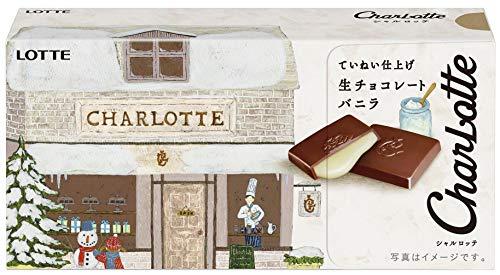 ロッテ シャルロッテ生チョコレート<バニラ> 12枚