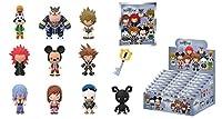 キングダム ハーツII 3D フィギュラル キーリング ブラインドパッケージ 1パック (キーホルダー付きミニフィギュア1個入り) Kingdom Hearts - Series 1 Figural Key Ring - Blind Box