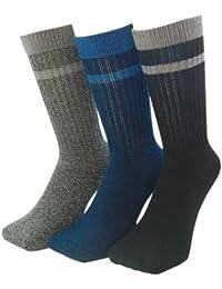 パックスエイジアン 銀イオン抗菌防臭底パイル先丸靴下3足組