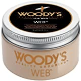 Woody's Men Hair Styling Web Pomade Matte Finish Wet Or Dry Hair Cr??me Gel 96g by Woody's [並行輸入品]