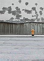 aofoto 6x 8ft写真スタジオの背景幕Streetscape Shabbyレンガ壁背景大人用Cityポートレート写真撮影小道具ビデオドロップ壁紙ドレープ