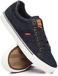(リーバイス) Levi's メンズ シューズ・靴 スニーカー ryan denim sneakers [並行輸入品]