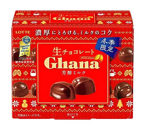 ロッテ ガーナ生チョコレート(芳醇ミルク) 64g×6個