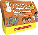 Buddy Readers Class Set, Level D: A Big Collection of Leveled Books for Little Learners