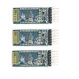 WINGONEER 3個SPP-C Bluetoothシリアルワイヤレス通信モジュールは、HC-05に代わるHC-06