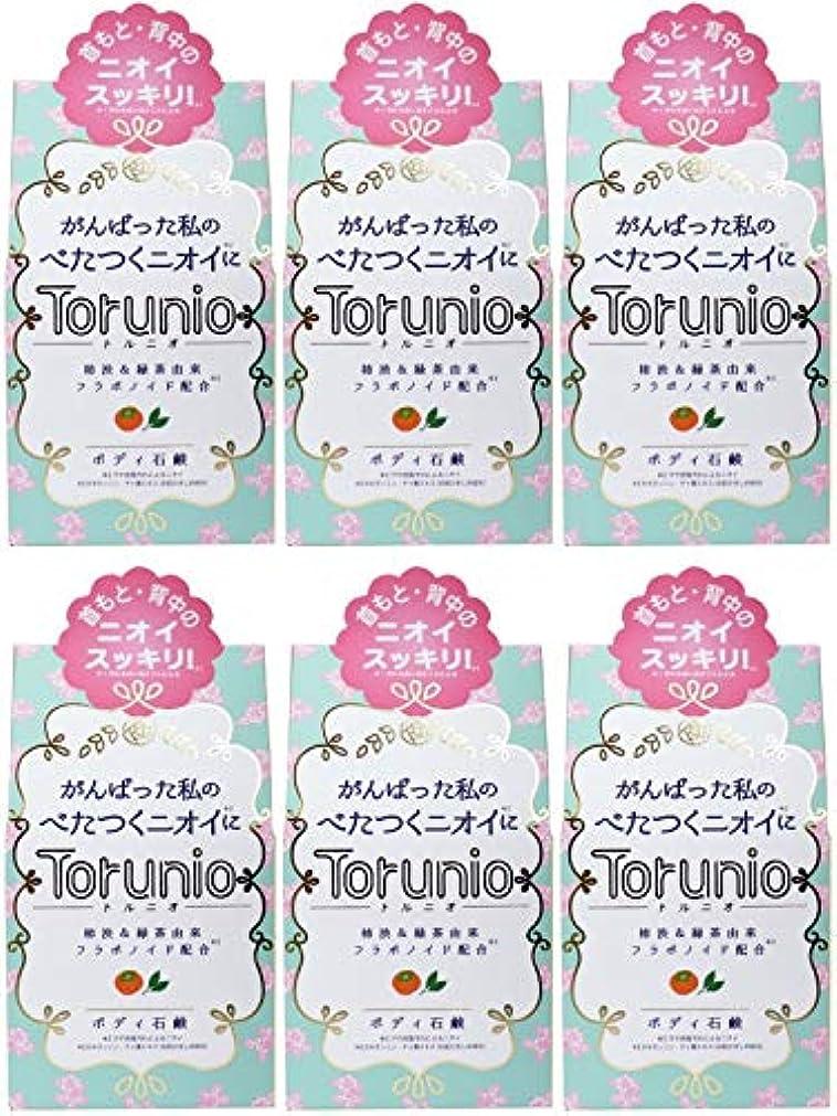 植物の外向きピストル【まとめ買い】Torunio(トルニオ)石鹸 100g【×6個】