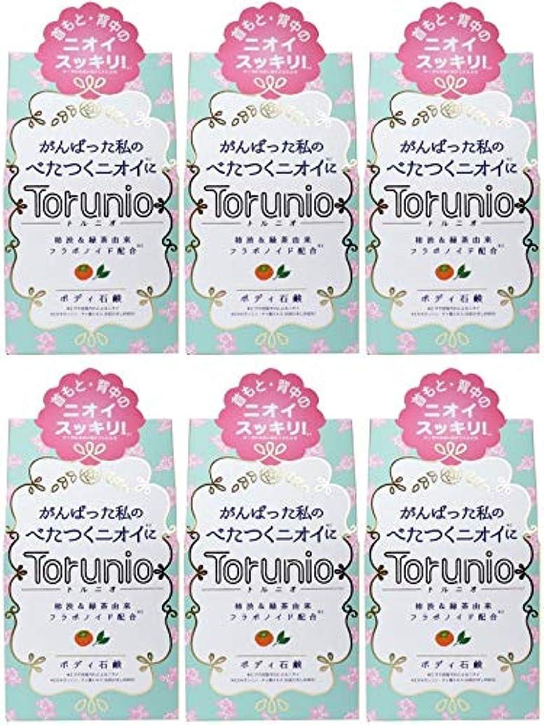 挑発する和解する消去【まとめ買い】Torunio(トルニオ)石鹸 100g【×6個】