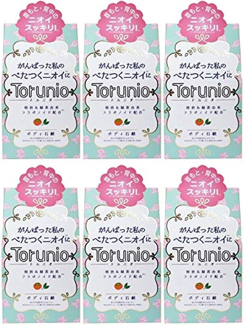 アフリカ国歌曇った【まとめ買い】Torunio(トルニオ)石鹸 100g【×6個】