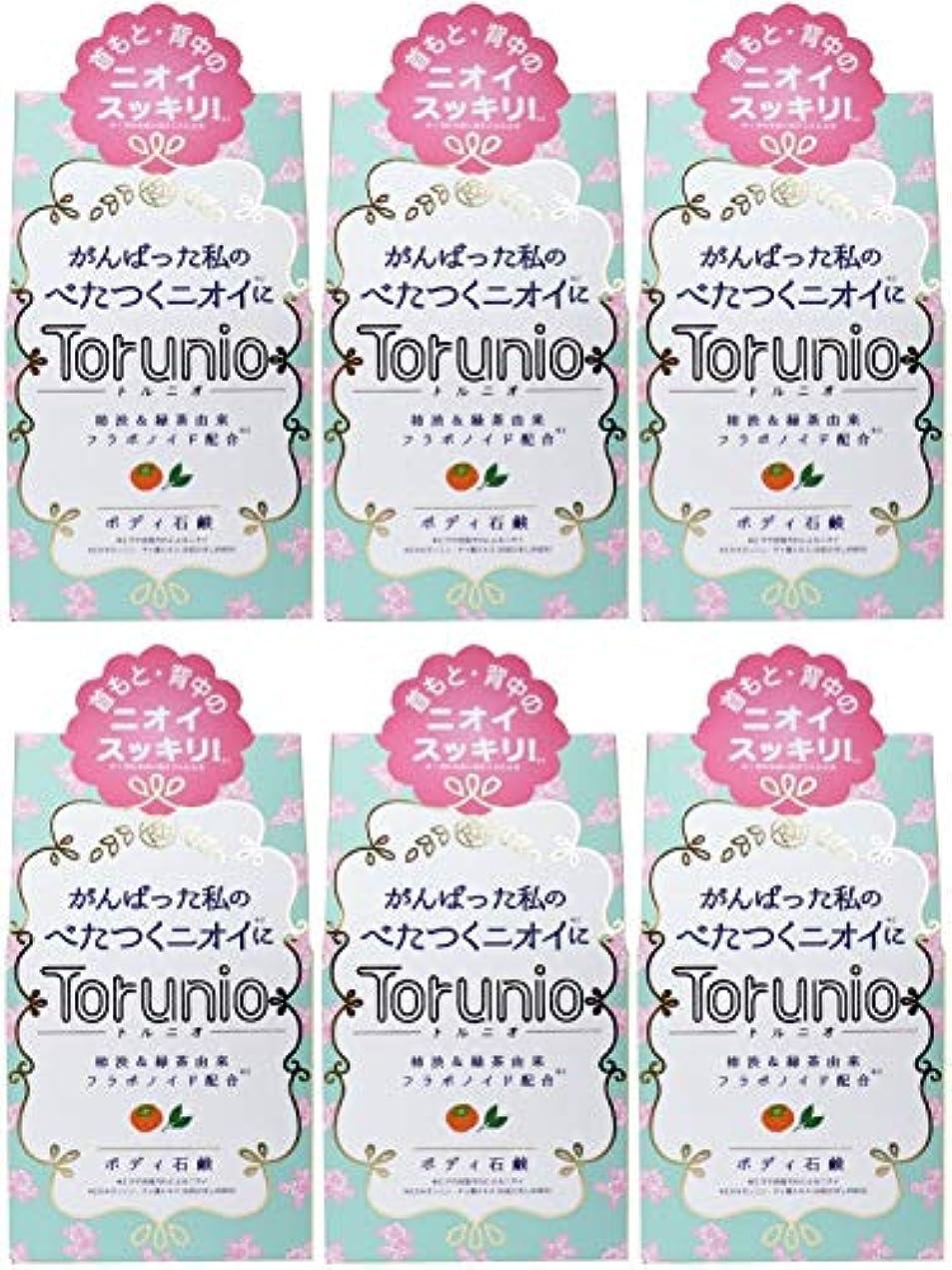 札入れチャート比率【まとめ買い】Torunio(トルニオ)石鹸 100g【×6個】