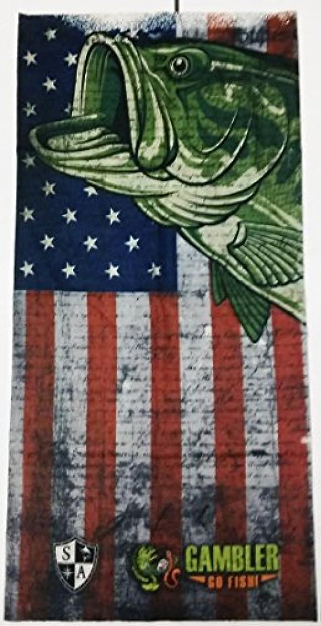 民間密ピースGamblerフェースシールドBass Flag