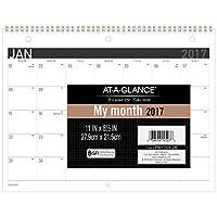 "AT-A-GLANCE Desk/Wall Calendar 2017,Monthly,11 x 8-1/2"",Wirebound (PM170X28) [並行輸入品]"