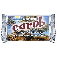 Siesta No Added Sugar Natural Carob Bar 50 g (Pack of 12)