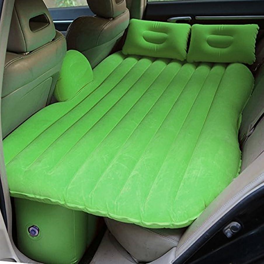 最愛の期待ブレンド内蔵のポンプ/枕とトラベルバッグのエアマットレスを備えた高速インフレータブル、屋外の室内空気ベッドを集めて車の膨張ベッド