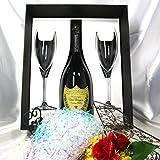 高級シャンパーニュ専門店銀座商会がご提供する Dom Perignon Vintage 2009 750ml Flute Glasses Set 【正規代理店商品】(Gift Box 入) ドンペリ 2009 フルートグラスセット