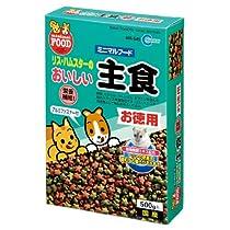 マルカン リス・ハムの主食お徳用(500g) MR-545