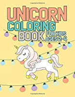 Unicorn Coloring Book for Kids Ages 2-4: Rainbow Unicorns Collection for Kids Coloring and have fun