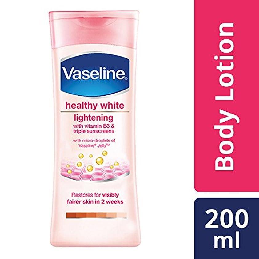 混合専門知識緊張Vaseline Healthy White Lightening Body Lotion, 200ml