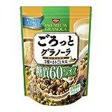 日清シスコ ごろっとグラノーラ 3種のまるごと大豆 糖質60%オフ 360g×6袋