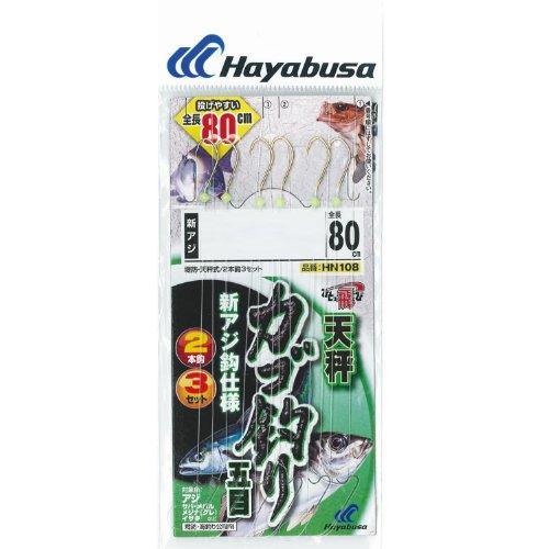 ハヤブサ(Hayabusa) カゴ釣り五目 カラ鈎80cm新アジ2本鈎 6-1.5