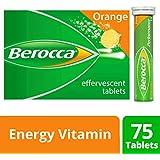 Berocca Energy Vitamin, Orange - 75 Effervescent Tablets
