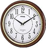 MAG(マグ) 壁掛け時計 モアマグ アナログ表示 連続秒針 ブラウン W-648BR-Z