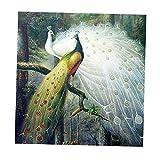 Dovewill DIY 手作り 手芸 ビーズ キット ダイヤモンド 塗装 絵 デコレーション 壁掛け 図案 13種類選べる - #4, 約30 * 35センチメートル