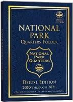 National Park Quarters Folder 2010 Through 2021: Complete Philadelphia and Denver Mint Collection