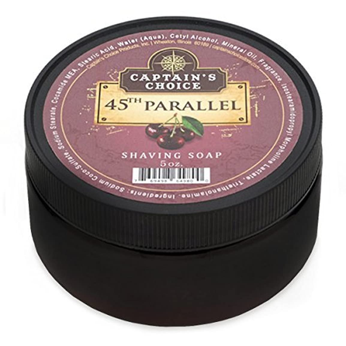 ボンド神聖哲学Captain's Choice 45th Parallel Shaving Soap 4oz [並行輸入品]