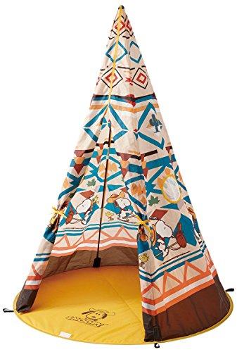 RoomClip商品情報 - ロゴス テント SNOOPY KIDS Tepee 86001056