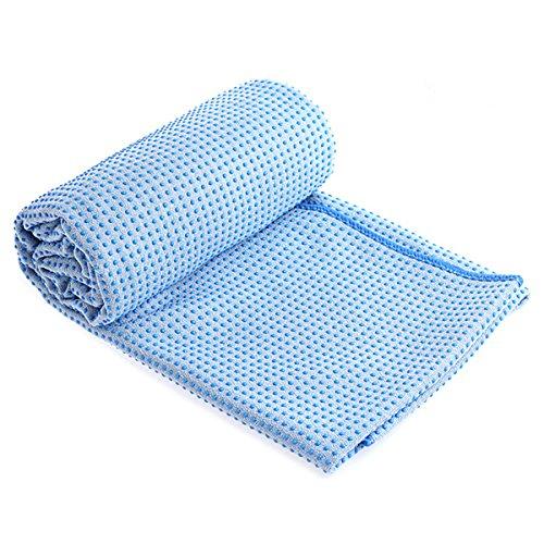 [해외]요가 매트 전용 수건 미끄럼 방지 요가 수건 183cm x 61cm 편안 속건 경량 핫 요가 요가 매트 운동 피트니스 스포츠 용품 (4 색)/Yoga mat exclusive towel anti-slip yoga towel 183 cm x 61 cm comfortable quick dry light weight hot yoga yoga ...