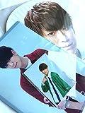 NEWS LIVE TOUR 2017 NEVERLAND 公式グッズ 【 小山慶一郎 】「ジャンボうちわ+クリアファイル+オリジナルフォトセット」+ 公式写真 【 NEWS 】1種 セット
