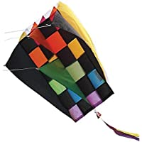 Kite - Parafoil 2 Rainbow Tecmo Kite with 500 Ft 30lb Test String and Winder by Premier Kites & Designs [並行輸入品]