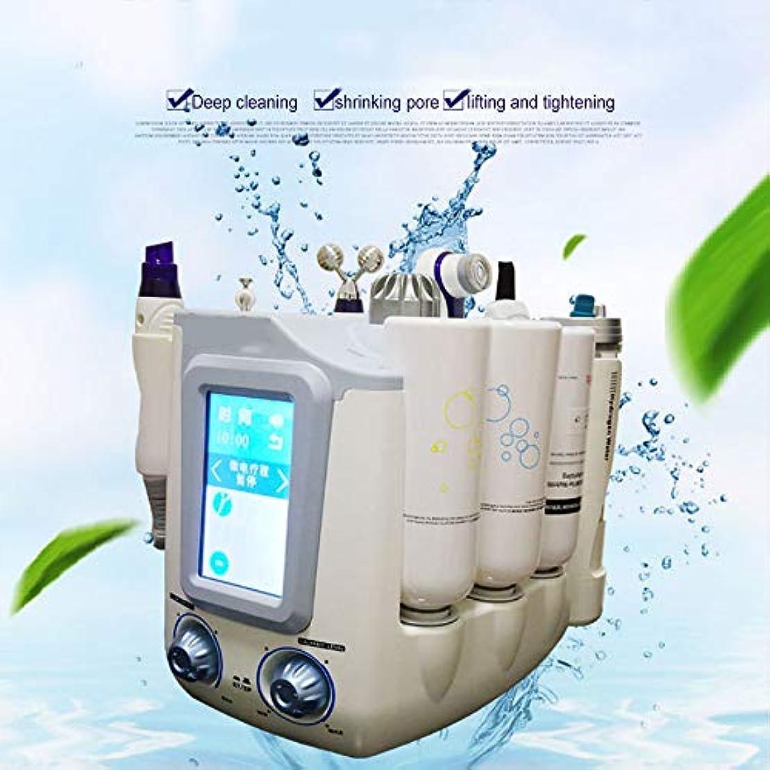 罰無数のフラフープ顔の美のスキンケア、水素の酸素の小さい泡Hydrofacial 6 1の多機能のスキンクリーナー、顔のクリーニングのにきびの若返りの美機械