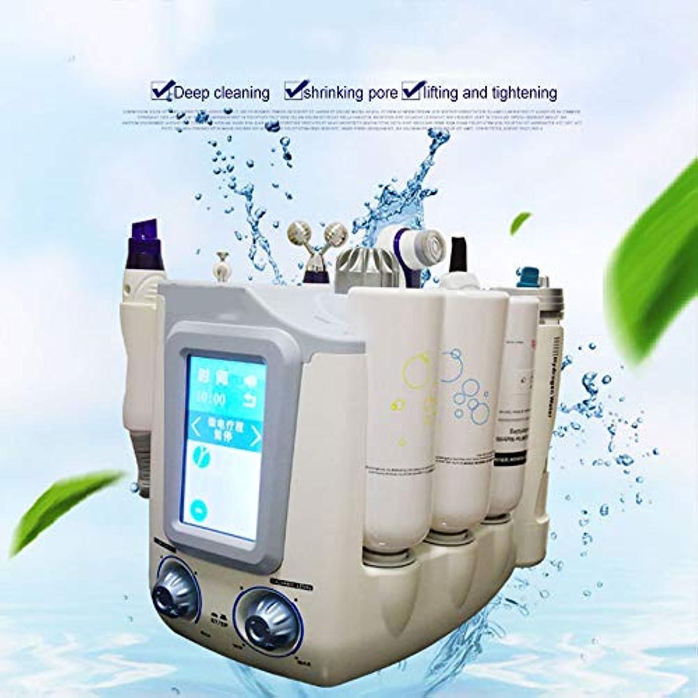 逆散髪勇敢な顔の美のスキンケア、水素の酸素の小さい泡Hydrofacial 6 1の多機能のスキンクリーナー、顔のクリーニングのにきびの若返りの美機械