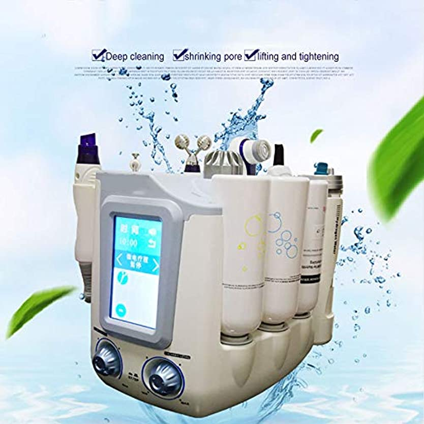 突撃誰も結晶顔の美のスキンケア、水素の酸素の小さい泡Hydrofacial 6 1の多機能のスキンクリーナー、顔のクリーニングのにきびの若返りの美機械