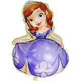 エアー無し ディズニー プリンセス ソフィア バルーン 風船 誕生日 お祝い パーティ イベント LZ-045fb (約89X60cm)