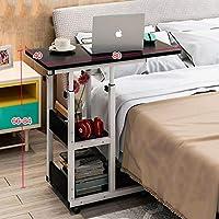 ベッドサイドテーブルラップトップテーブルレイジーテーブルベッドテーブルベッドルームの小さなテーブル可動式持ち上げミニ学生シンプル (色 : A)
