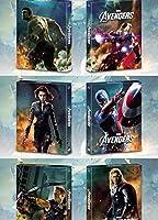 アベンジャーズ 3D+2D スチールブック FULLSLIP [Blu-ray] Steelbook アイアンマン/ソー/キャプテン・アメリカ