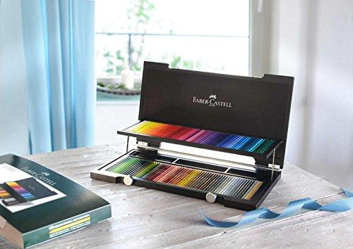 ファーバーカステル ポリクロモス色鉛筆 120色セット-木箱入