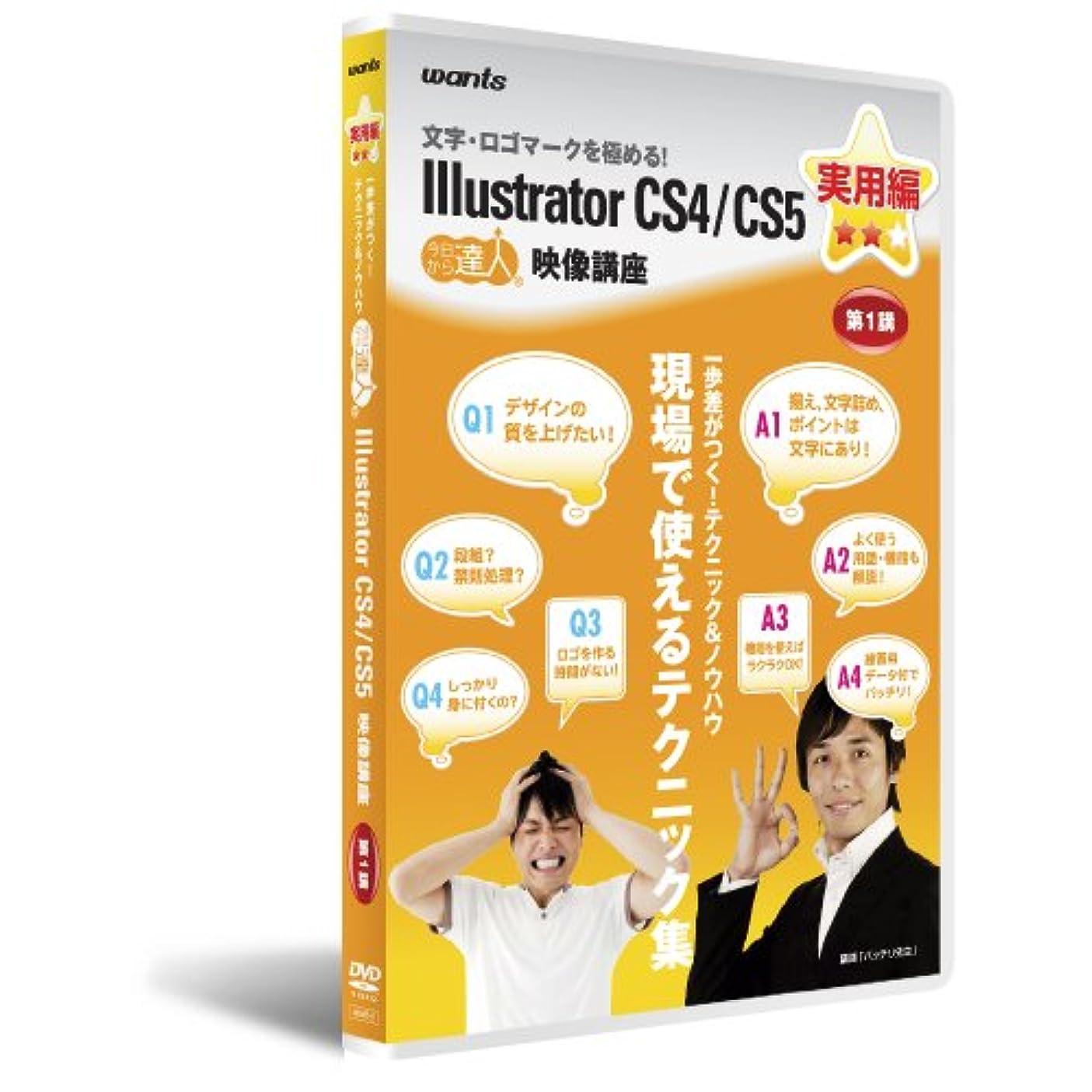 修羅場不平を言う大事にするイラストレーターCS4/CS5 :DVD講座 実用編 第1講
