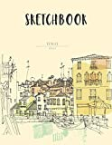 Sketchbook: 8.5 x 11 Large Blank Pages Notebook for Sketching, Drawing, Doodling, Notes, Sketching Pad , Creative Diary And Journal 画像