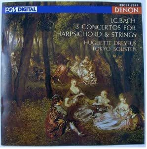3 Concertos for Harpsichord