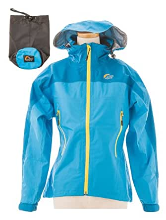 (ロウ アルパイン) Lowe Alpine GTX PERFORMANCE RAIN JACKET W LSW12003 BLUE BLUE S