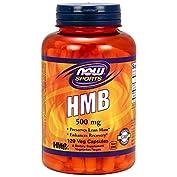 Now HMB 500 mg 120 Veggie Caps 海外直送品