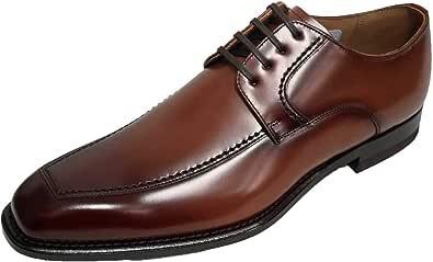 [リーガル] メンズ ビジネスシューズ 靴 Uチップ スクエアトゥ EE オフィス フォーマル ドレス 冠婚葬祭 就活 124R AL