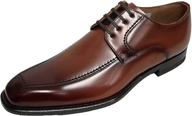 [リーガル] メンズ ビジネスシューズ 靴 Uチップ スクエアトゥ オフィス フォーマル ドレス 冠婚葬祭 就活 124R AL ブラウン 23.5cm