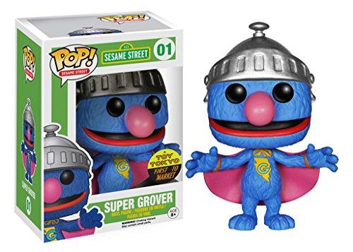 SESAME STREET(세서미 스트리트) FUNKO 슈퍼 구로바 의 POP 피규어 SUPER GROVER POP! TV-4890