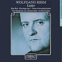 Lieder: Vier Gedichte Aus Atem by WOLFGANG RIHM (2000-09-16)