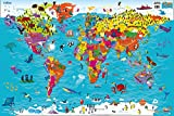 Collins Children's World Map 画像